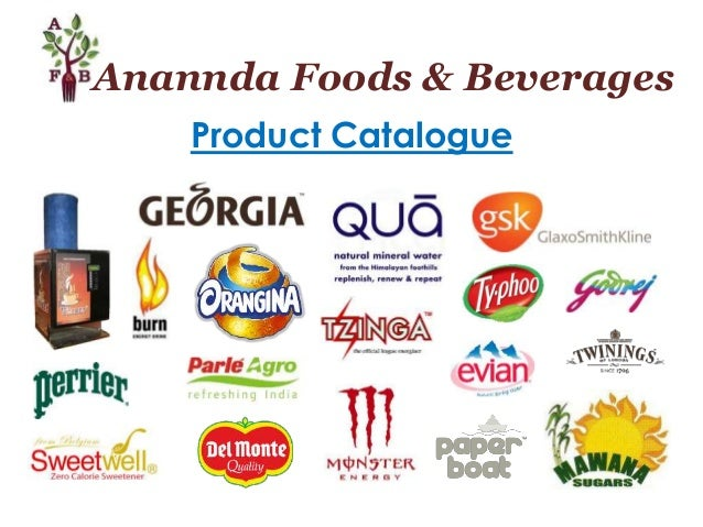 Anannda Foods & Beverages Product Catalogue