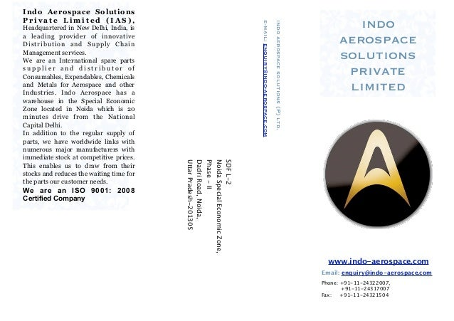 Indo Aerospace SolutionsPrivate Limited (IAS),                                                                            ...