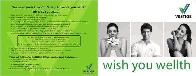 wish you wellth wish you wellth We need your support & help to serve you better For example if Distributor ID is 11000012,...