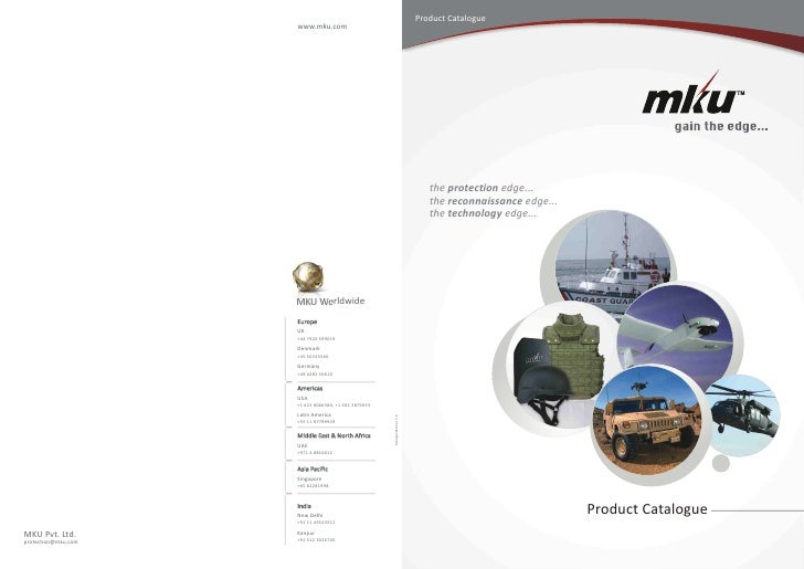 Product Catalogue                      www.mku.com                                                                        ...