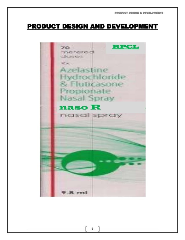 PRODUCT DESIGN & DEVELOPMENTPRODUCT DESIGN AND DEVELOPMENT                   RPCL       naso R              1