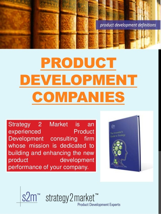 Product development strategy for Best product development companies