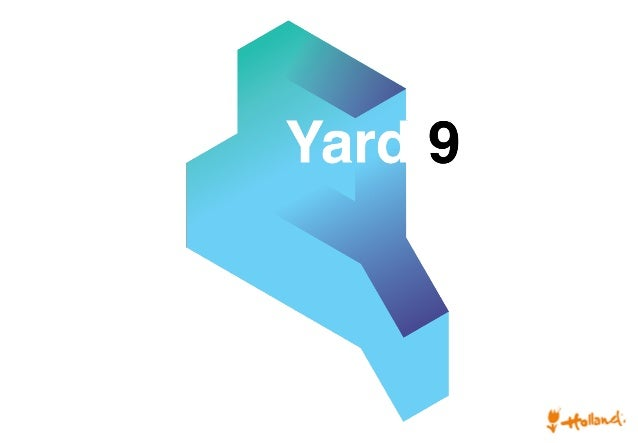 Yard 9! 	    Product development in relation to the safety of bicycles and cycle parking systems ! by! Peter van der Veer!