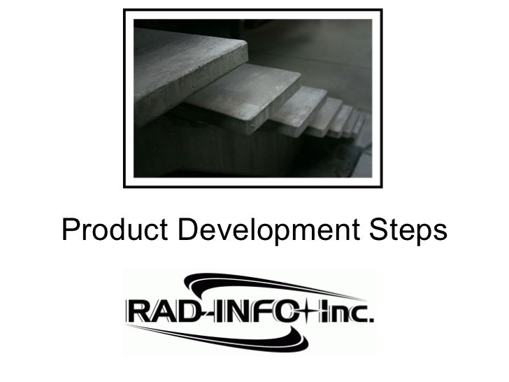 Product development steps