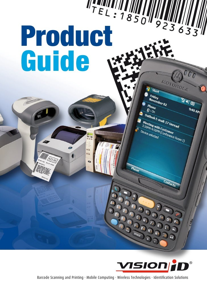 Product Guide      Barcode Scanning and Printing · Mobile Computing · Wireless Technologies · Identification Solutions