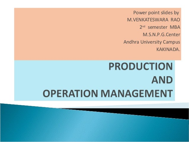 mcdonald's production and operations management View facility layout from accounting acc501 at national university of sciences & technology, islamabad facility layout production and operations management mcdonalds - new kitchen layout fifth.