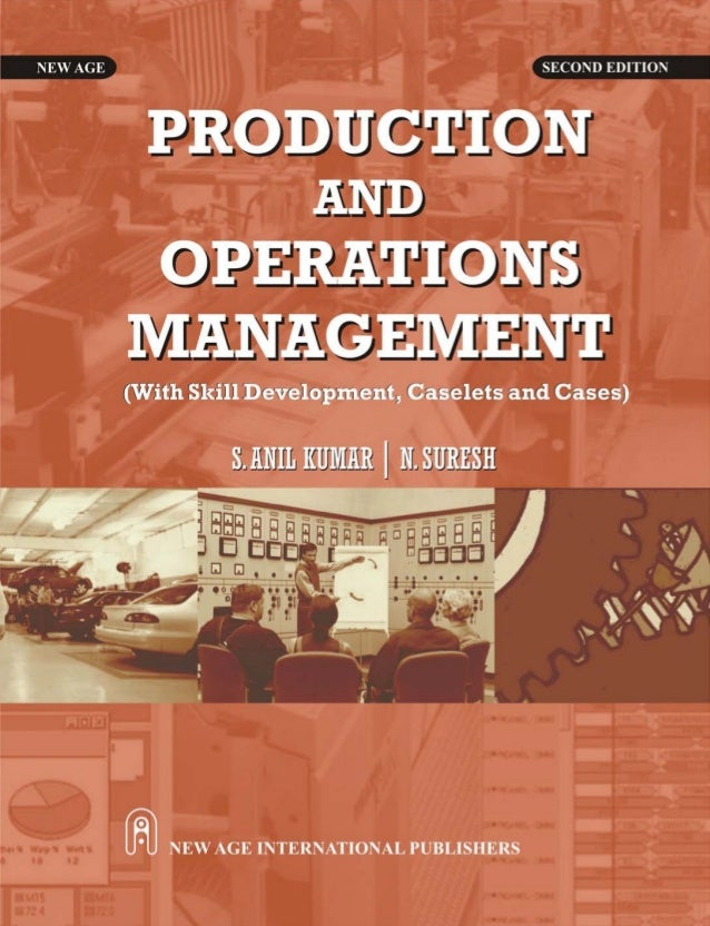 production and operation managment The main difference between production and operations management is that while production management is concerned with the management of activities related to production of goods, whereas operations management is related to the management of both production of goods and provision of services.