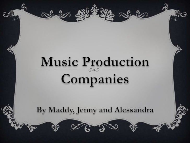 Production companies manage the recording process, and theproduction of the music. They work with the band, session musici...