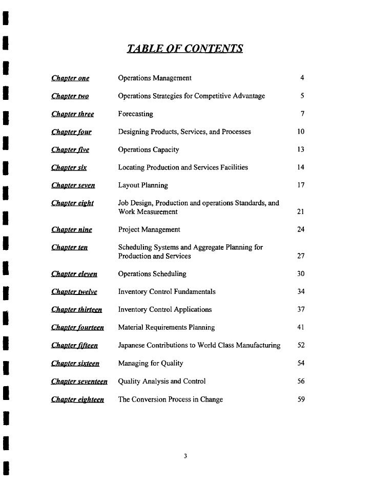 mg375 operations management student study guide Project management office operations guide revised 3/31/2015 projected business benefits can include financial, organizational, student enrollment or retention.