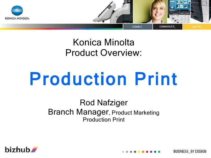 print rod nafziger branch manager product marketing production print