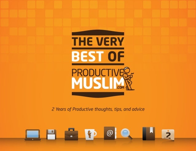 Productive muslim ebook