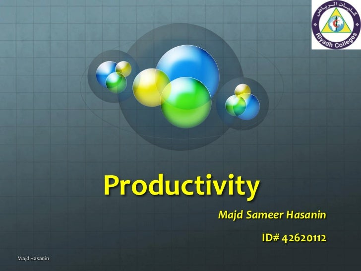 Productivity in Dentistry