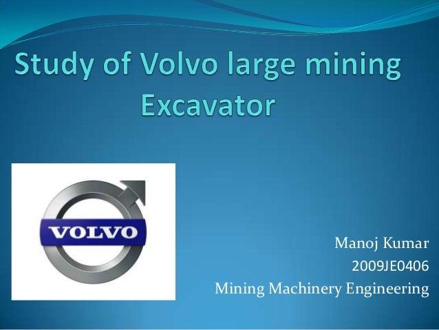Manoj Kumar2009JE0406Mining Machinery Engineering