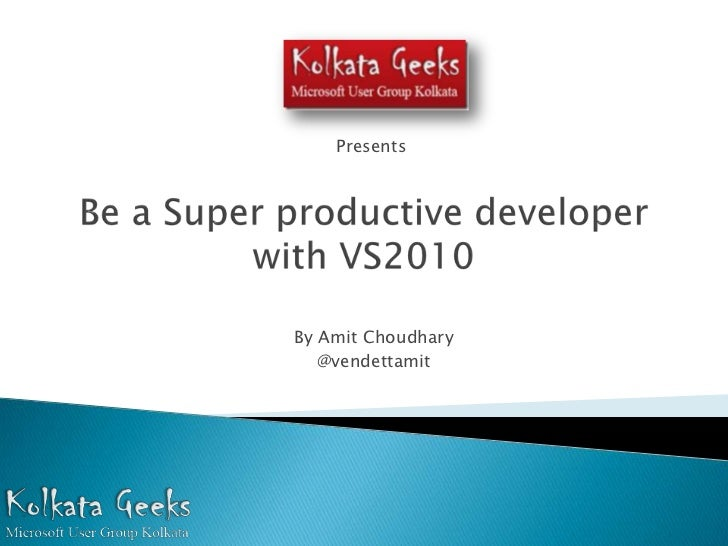 How to become a Super Productive Developer