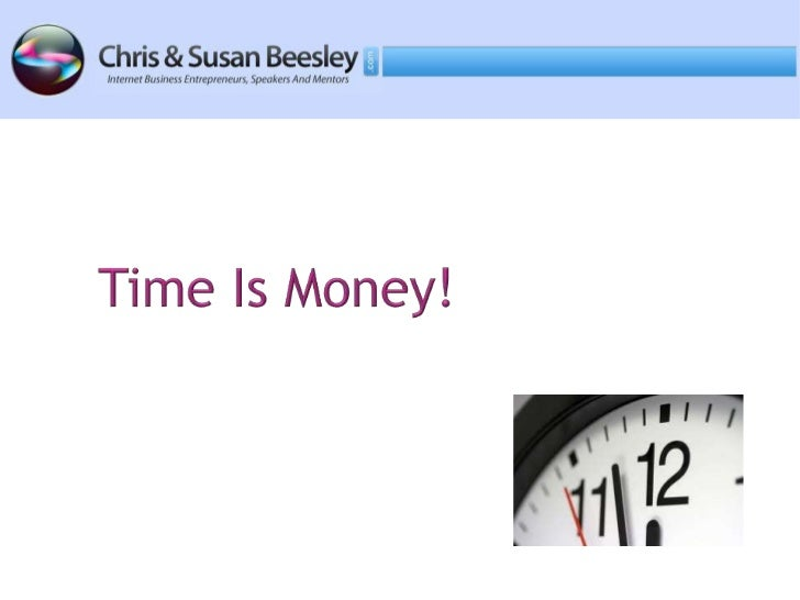 Time is Money - Productivity Tips and Strategies