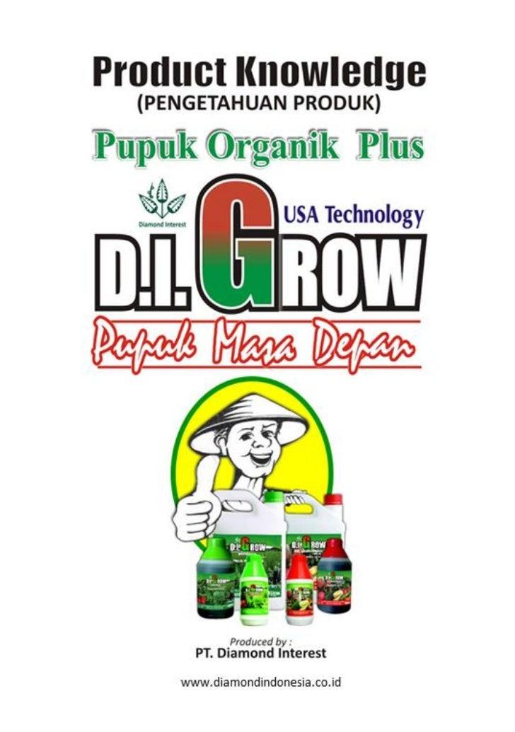 Product knowledge pupuk di grow