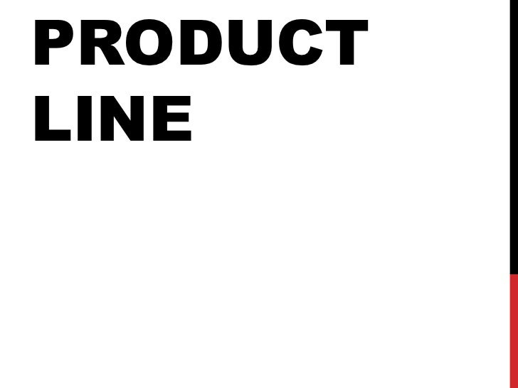 PRODUCTLINE