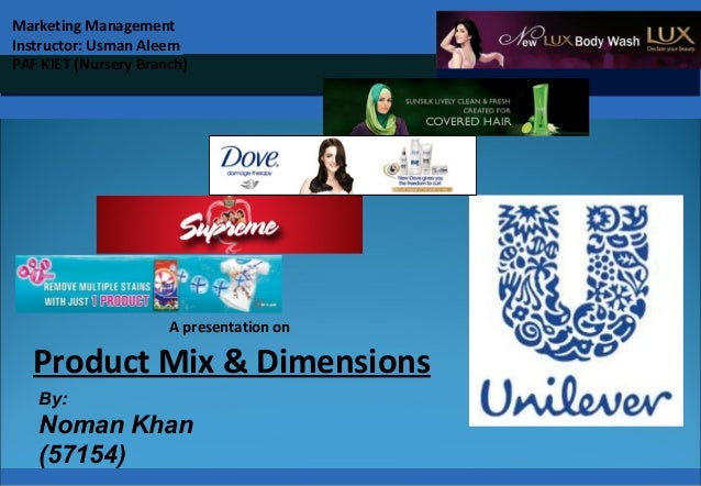 Pakistan Civil Aviation Authority A presentation on Product Mix & Dimensions By: Noman Khan (57154) Marketing Management I...