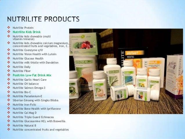 Product Mix Amway