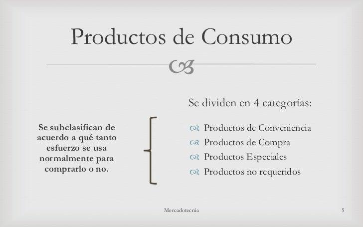 Producto y sus caracteristicas - Descripcion del producto ...