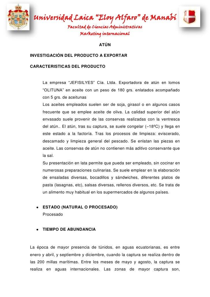 """Universidad Laica """"Eloy Alfaro"""" de Manabí                   Facultad de Ciencias Administrativas                          ..."""