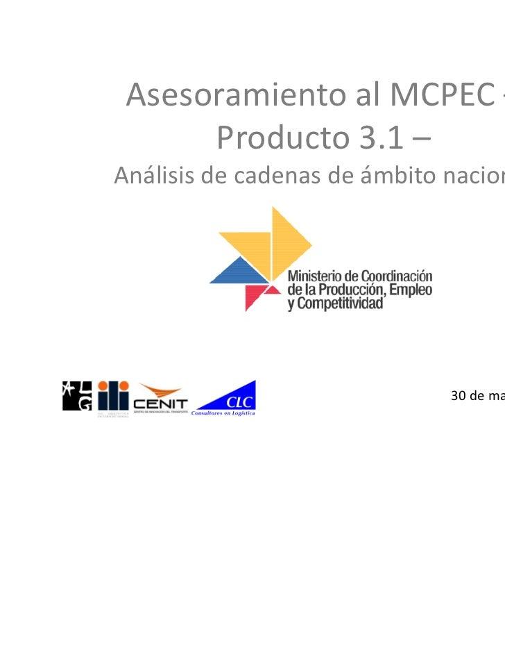 Objetivo                 •   Inventario de las infraestructuras viarias, portuarias y aeroportuarias del país,   Objetivos...