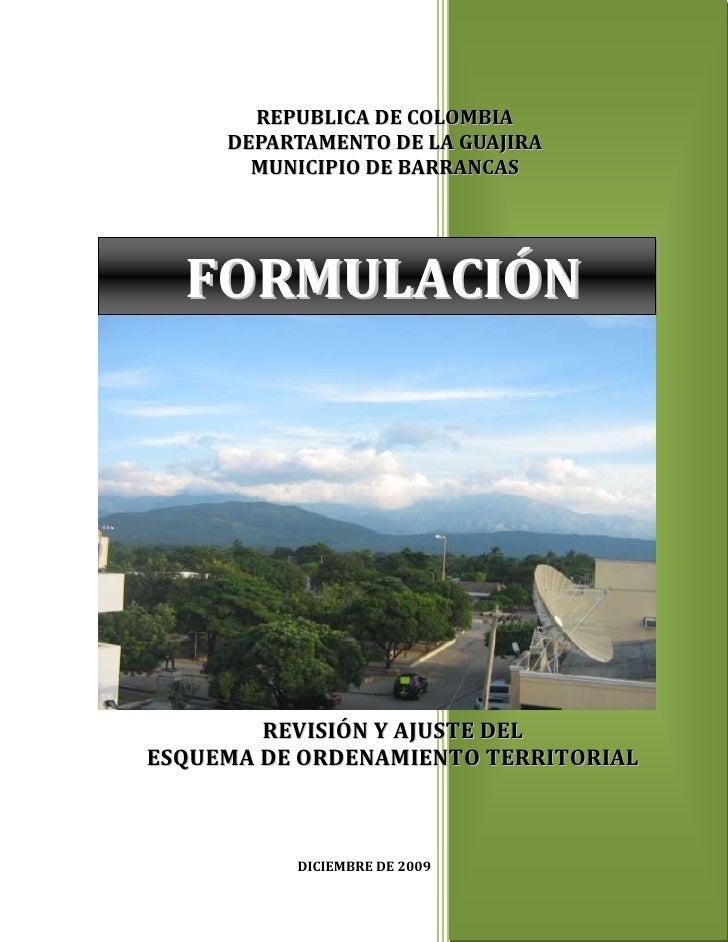 Producto 8. formulacion 17 marzo 2010