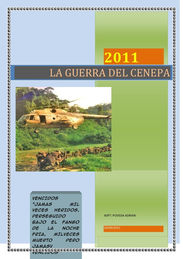 """2011ASPT: POVEDA ADRIAN24/09/2011VENCIDOS """"JAMAS MIL VECES HERIDOS, PERSEGUIDO BAJO EL FANGO DE LA NOCHE FRIA, MILVECES MU..."""