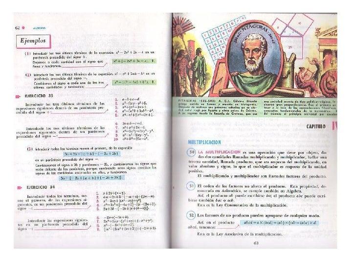 Producto De Polinomios (Algebra De Baldor)