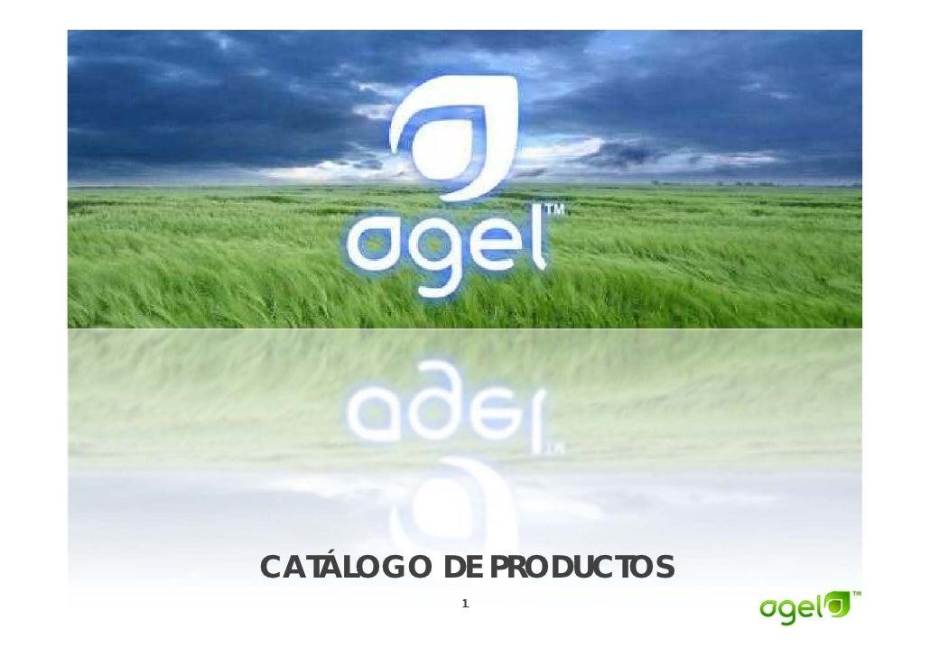 CATÁLOGO DE PRODUCTOS    Á           1