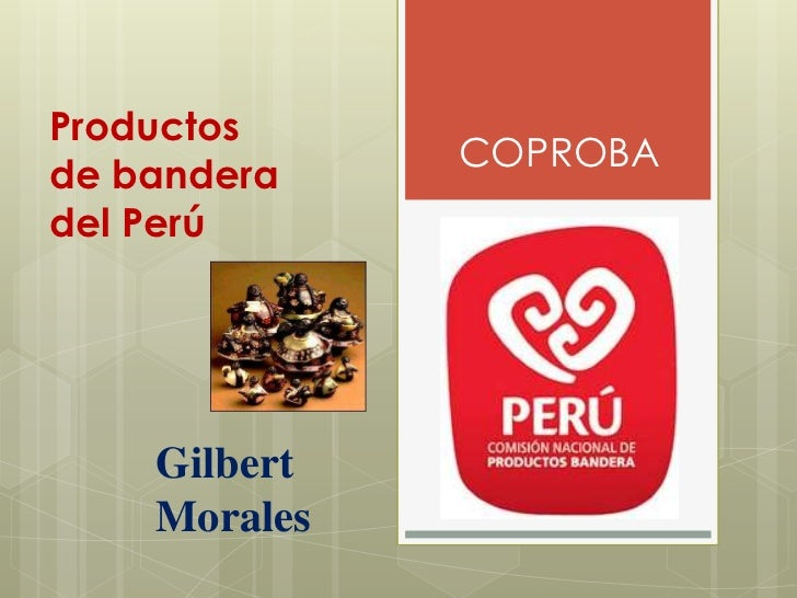 Productos  de bandera de perú 2011