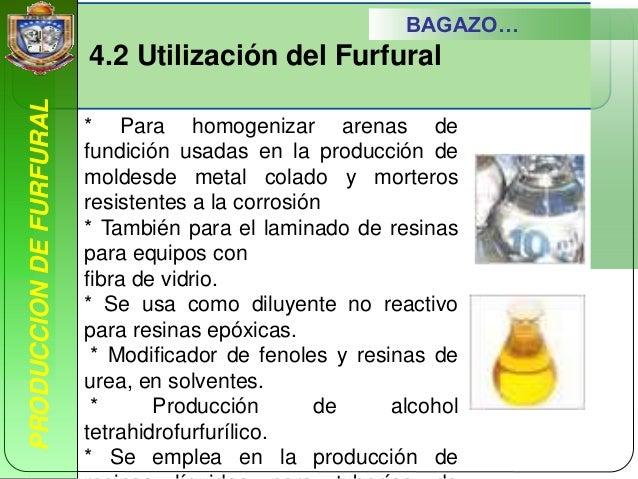 Unidad 4 produccion de furfural - Como se quitan las manchas de aceite ...
