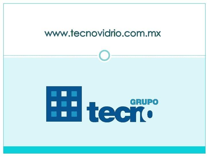 Productos Grupo Tecno