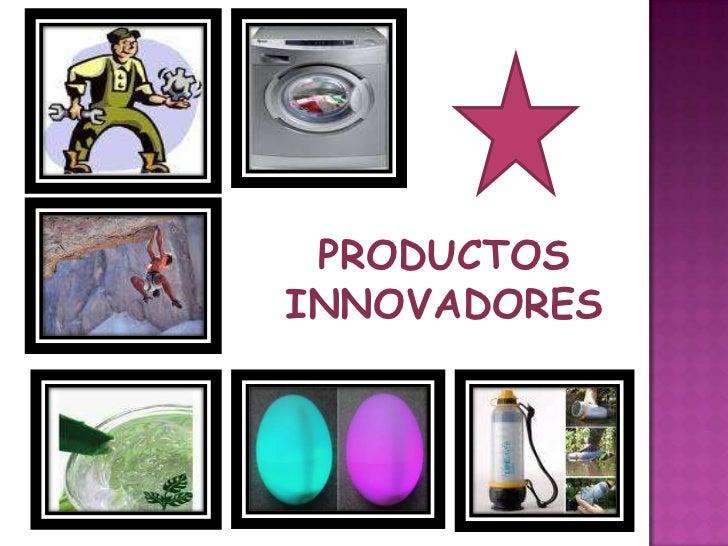Productos mercadeo