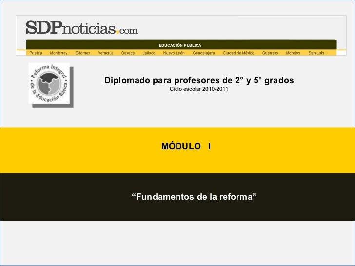 Productos modulo 1 diplomado 2 y 5