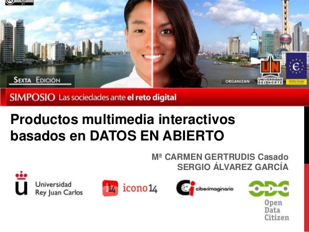 Productos multimedia interactivos basados en datos en abierto