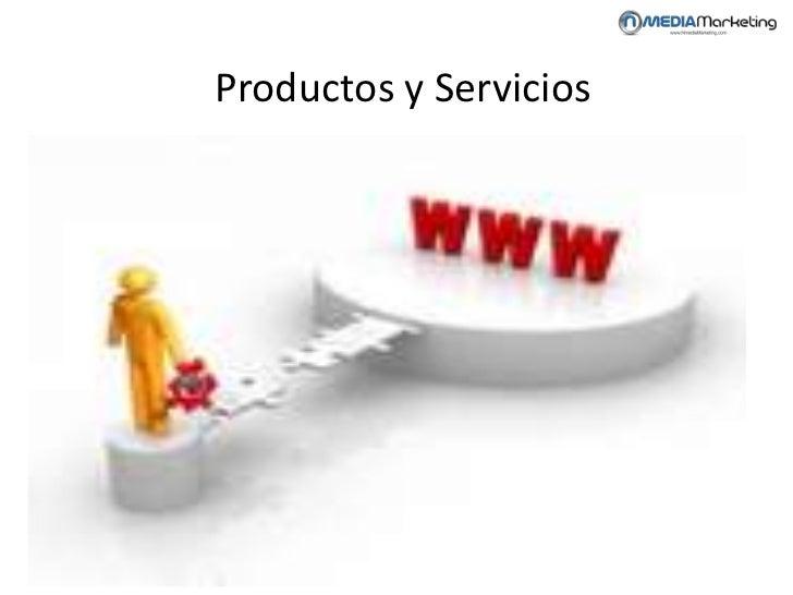 Productos y Servicios<br />