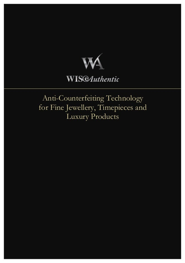WISeAuthentic Product Overview Brochure