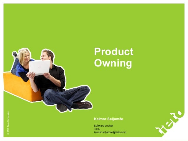 Product ownership in scrum