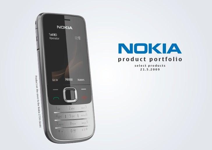 Product Porfolio of Nokia