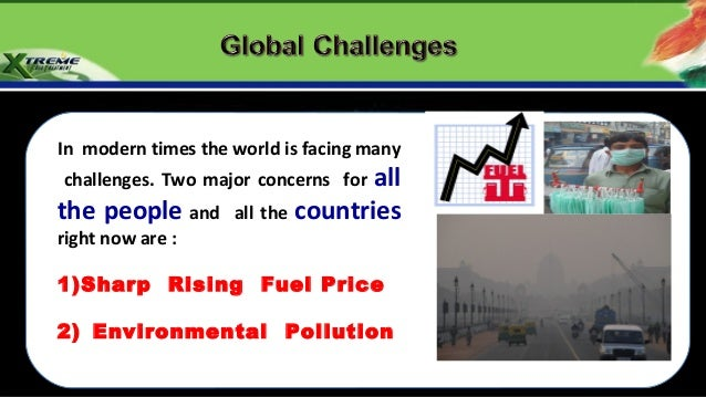 In modern times the world is facing many  challenges. Two major concerns forallthe people and       all the countriesright...
