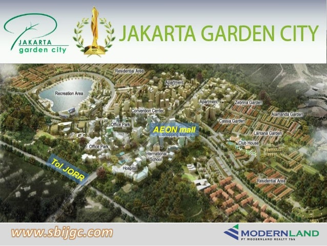 Product presentation jakarta garden city modernland sbijgc for Gardening tools jakarta