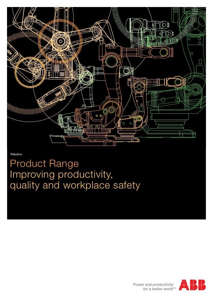 Product Range 2010