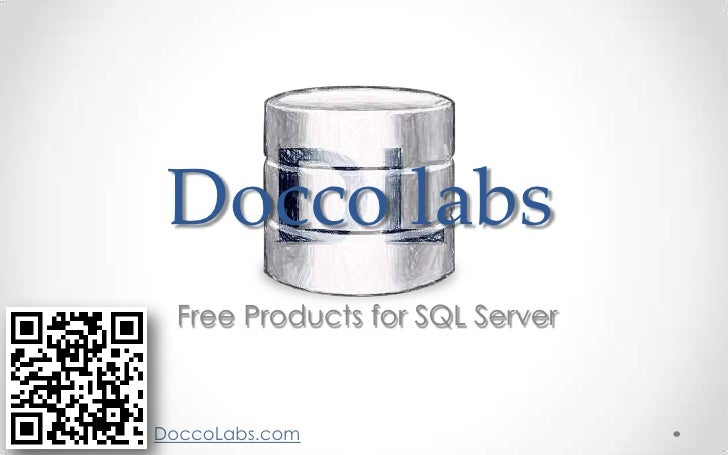 Docco labs  Free Products for SQL ServerDoccoLabs.com