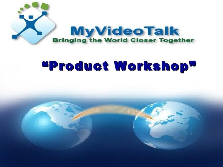 My Video talk