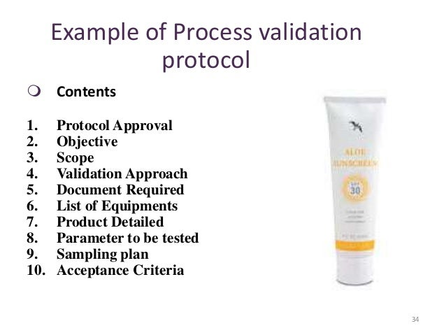 process validation protocol and report Method validation process  47 validation report and other documentation  to choose the validation procedure and the protocol most.