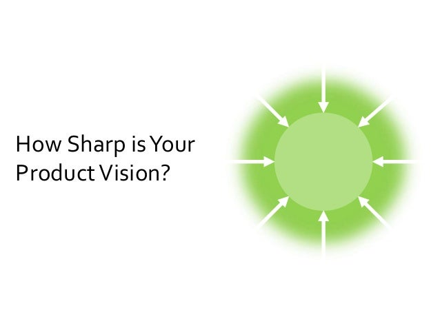 How Sharp is Your  Product Vision?