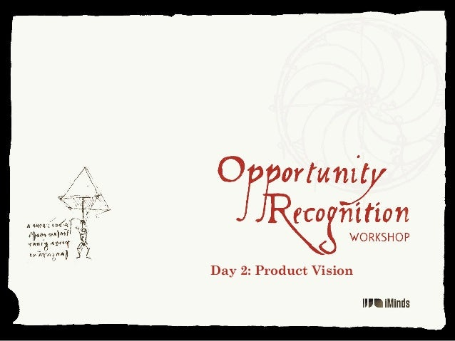 Day 2: Product Vision