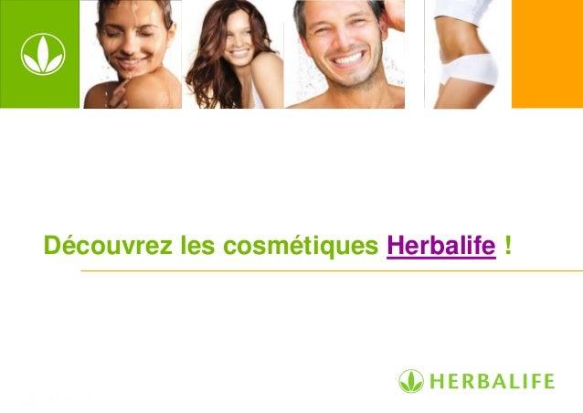 Les bienfaits des produits cosmétiques Herbalife