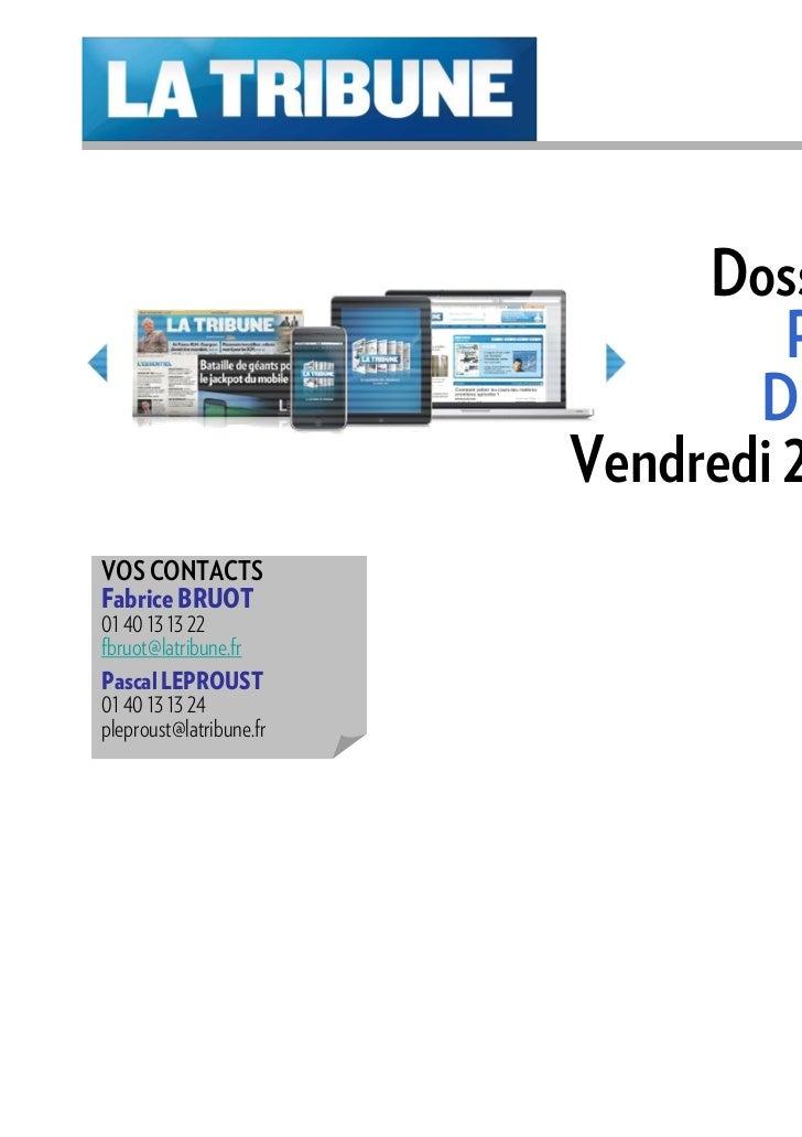 Dossier Spécial                                  PRODUITS                                DE BOURSE                        ...